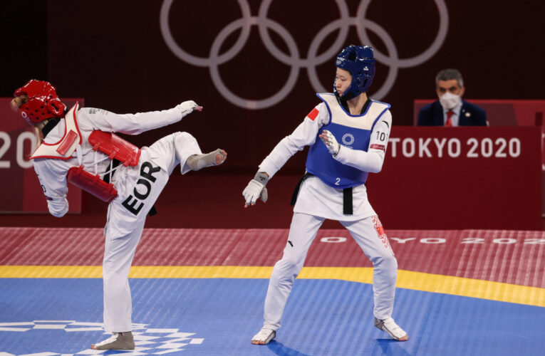 What is EOR in the Tokyo 2020 Olympics, is it a country and who did Jade Jones lose to in taekwondo?
