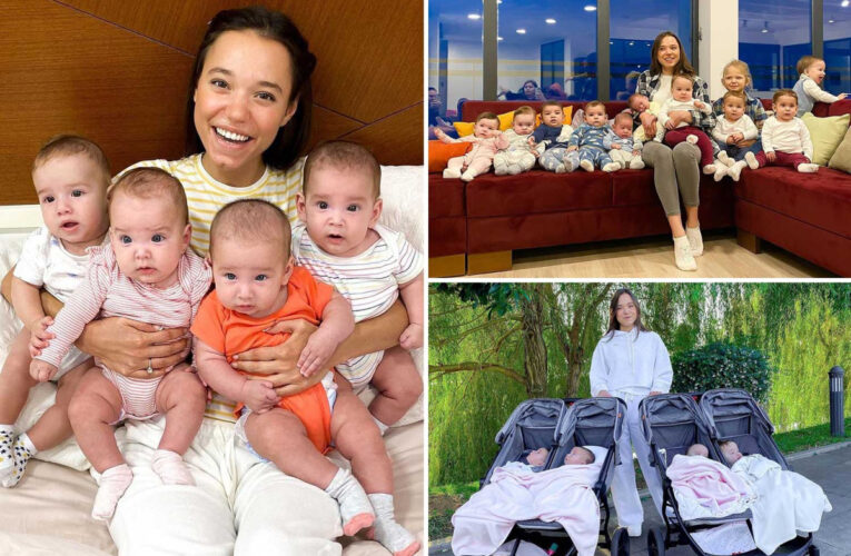 Mum-of-11 is so addicted to having kids she wants 100 CHILDREN using surrogates costing £800,000