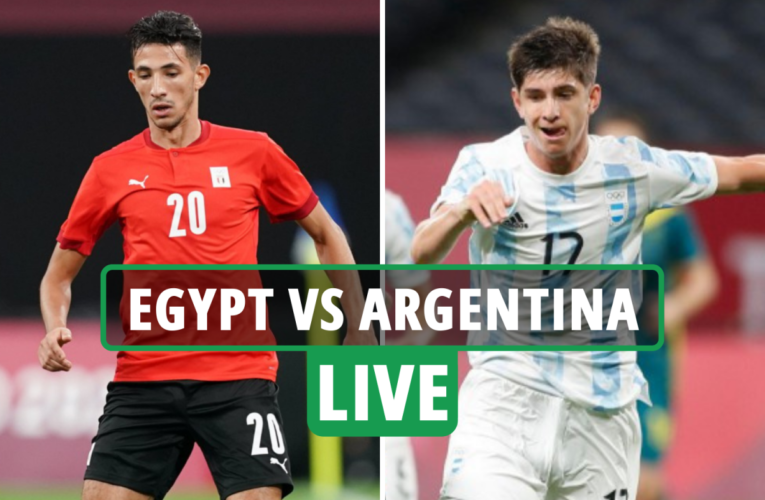 Egypt vs Argentina LIVE: Stream FREE, TV channel, team news for TODAY'S Olympic Games football clash – latest updates